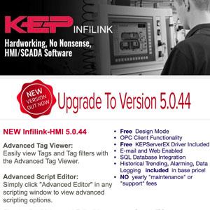Infilink-HMI 5.0.44 Released