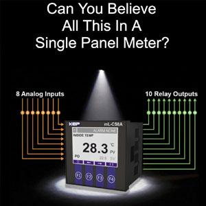mL-CS8A Panel Meter