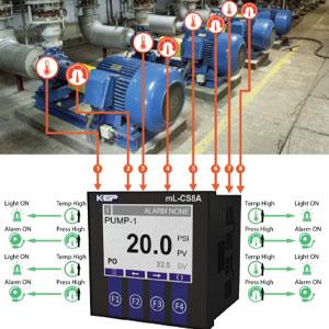 mL-CS8A Monitors Multiple Pumps