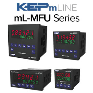 mL-MFU Series Multi-Function Counters/Timers